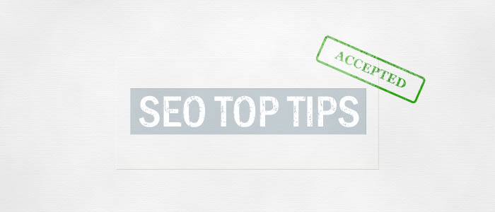 SEO tips accepted